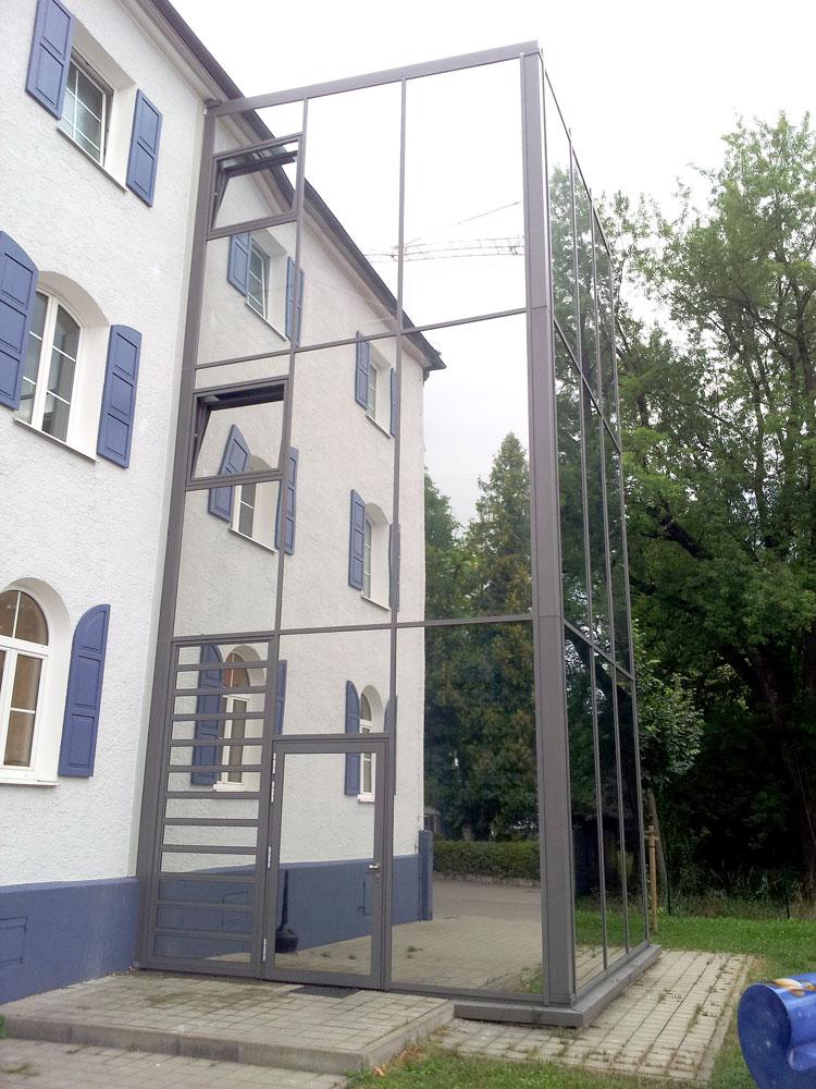 Gebäudefolie-Hitzeschutz