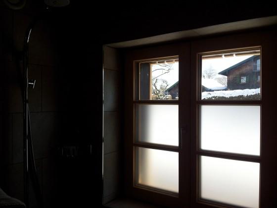 Sichtschutz Badezimmer