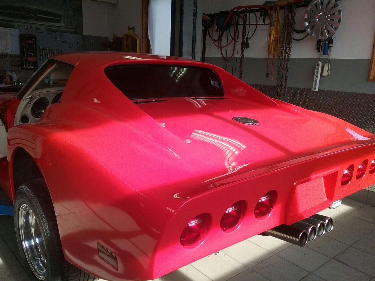 Heckscheibe Corvette C3